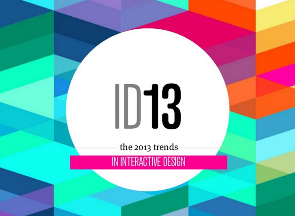 Trender inom interaktionsdesign 2013