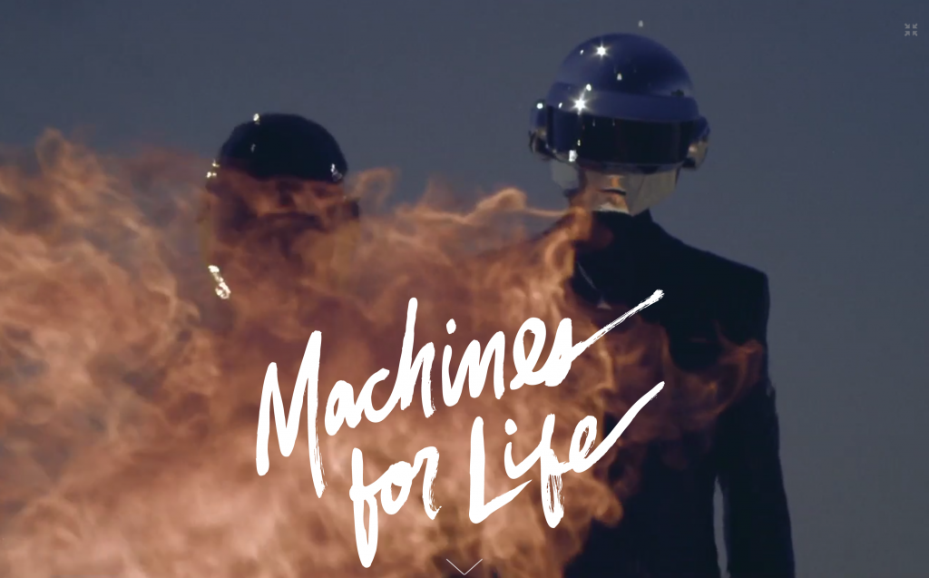 Daft Punk, Machines for life