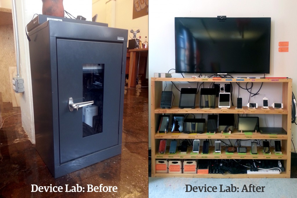 Etsy device lab