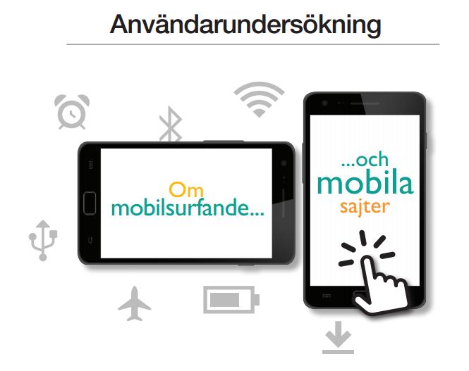 Användarundersökning mobilt användande